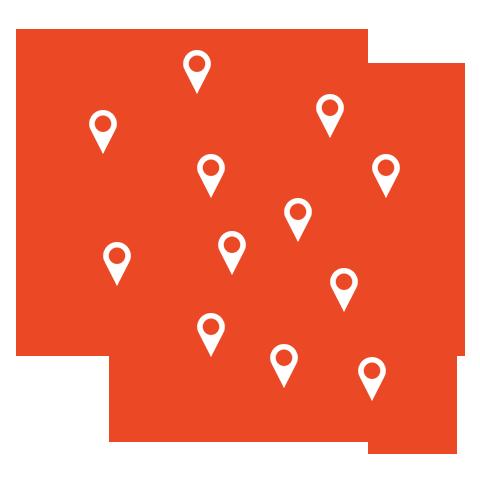 mapa-polski-z-zaznaczonymi-oddziałami
